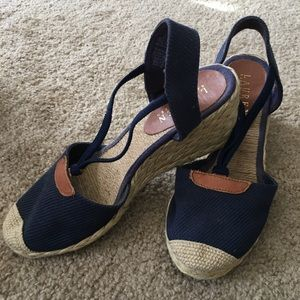 Ralph Lauren wedge sandals - Size 6.5